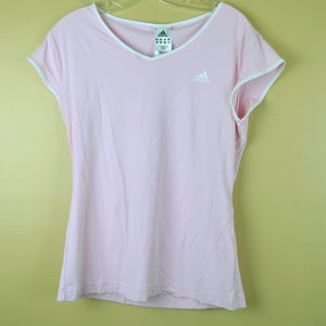 Adidas Climalite Women's Pink  Athletic Top Size L